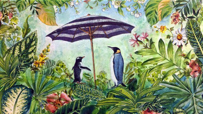 pinguine mit schirm